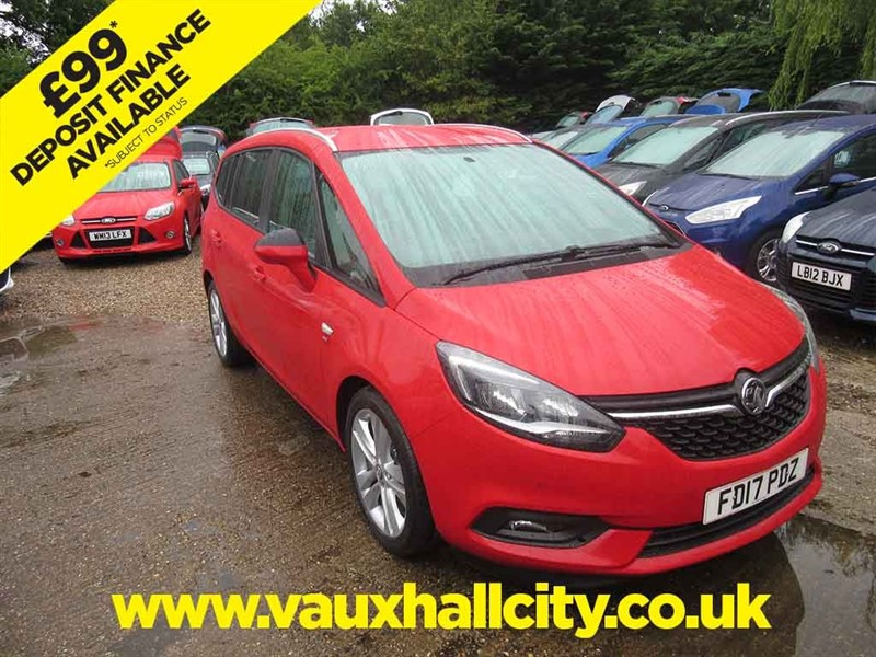 used Vauxhall Zafira Tourer SRI NAV in windlesham-surrey