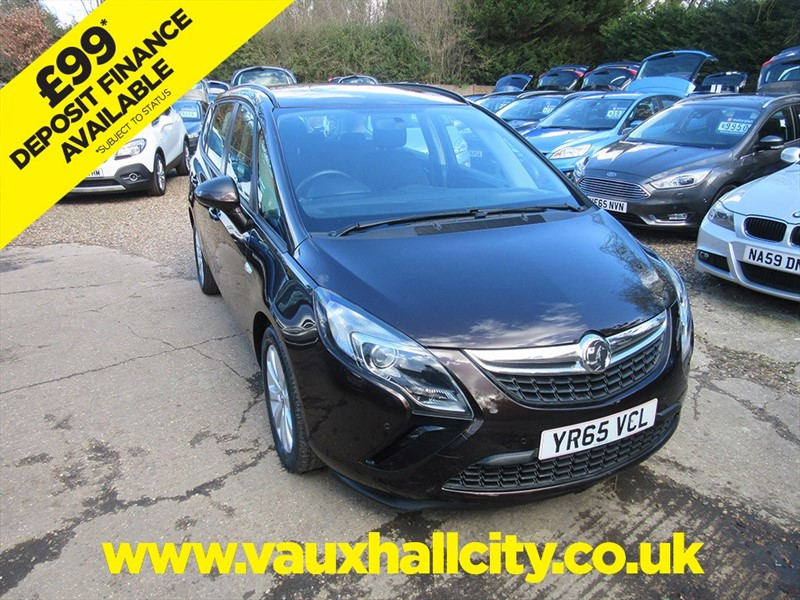 used Vauxhall Zafira Tourer DESIGN CDTI ECOFLEX S/S in windlesham-surrey
