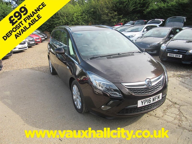 used Vauxhall Zafira Tourer ENERGY in windlesham-surrey