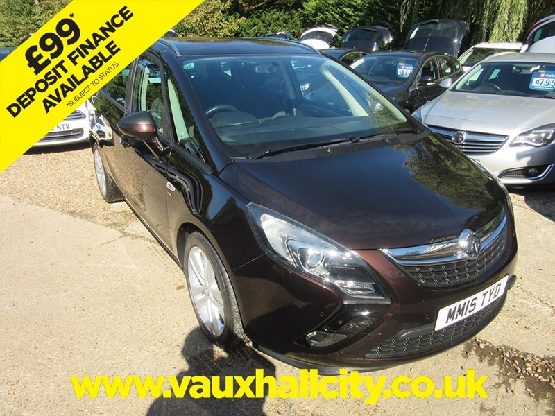used Vauxhall Zafira Tourer SRI in windlesham-surrey