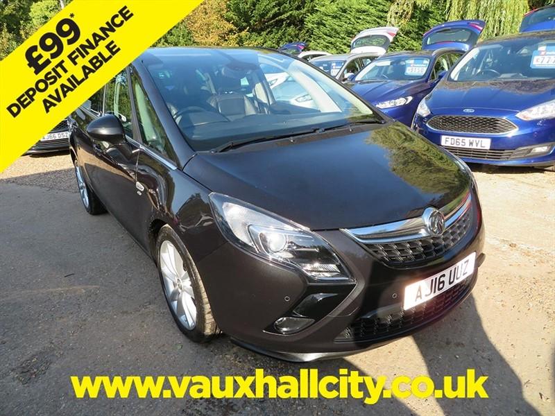 used Vauxhall Zafira Tourer ELITE CDTI in windlesham-surrey