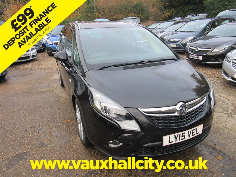 used Vauxhall Zafira Tourer SRI CDTI in windlesham-surrey