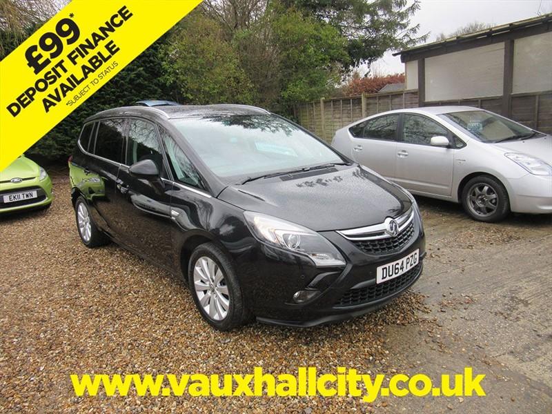 used Vauxhall Zafira Tourer SE CDTI in windlesham-surrey