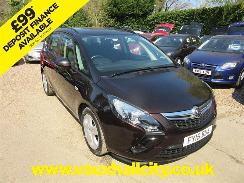 used Vauxhall Zafira Tourer EXCLUSIV CDTI in windlesham-surrey