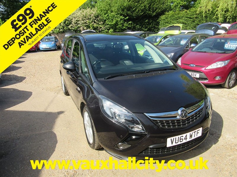 used Vauxhall Zafira Tourer EXCLUSIV CDTI ECOFLEX S/S in windlesham-surrey