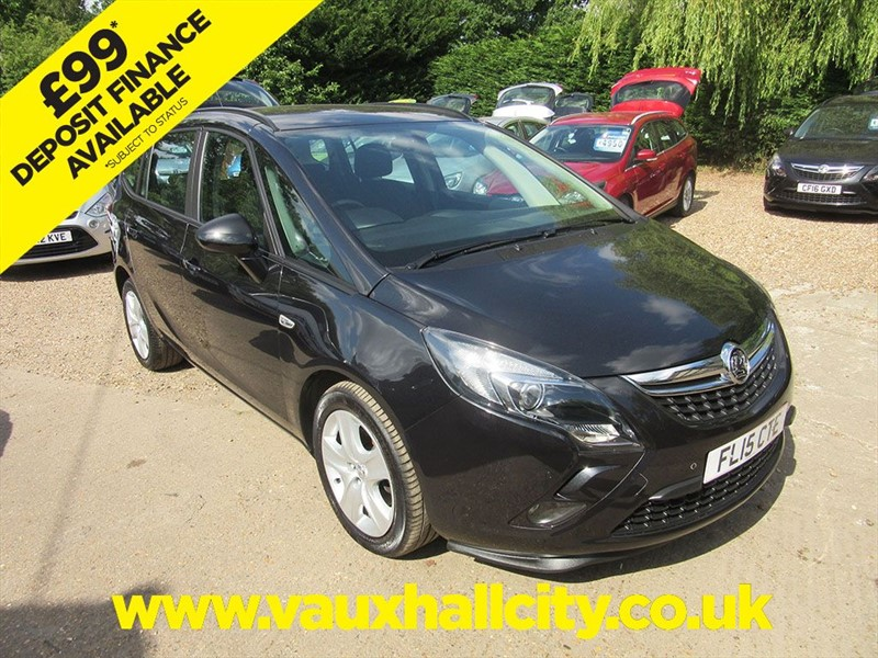 used Vauxhall Zafira Tourer EXCLUSIV CDTI in windlesham-surrey