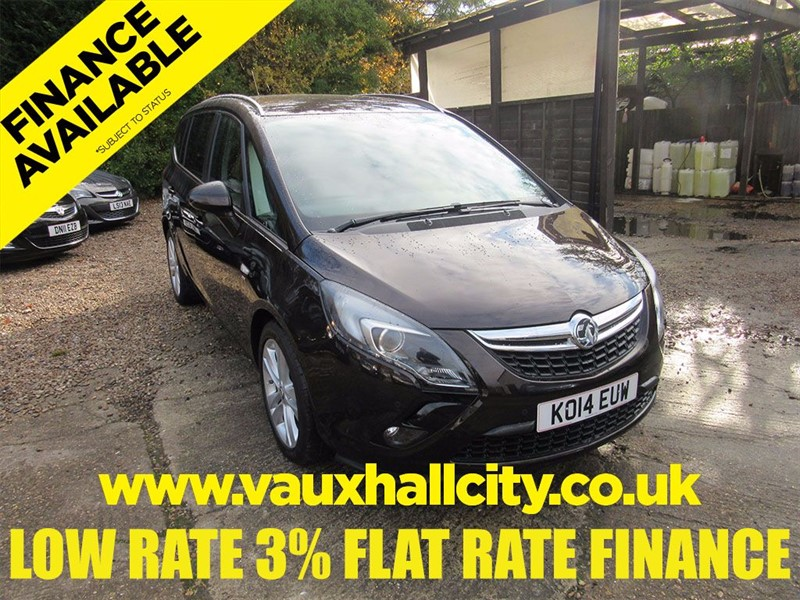 used Vauxhall Zafira Tourer SRI in windlesham-surrey
