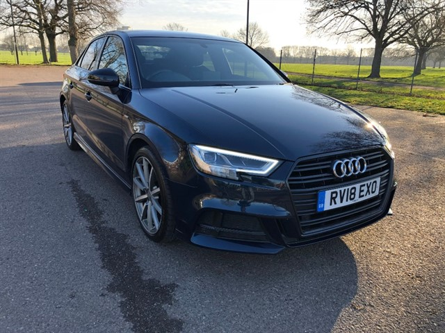 used Audi A3 TFSI S LINE BLACK EDITION in essex