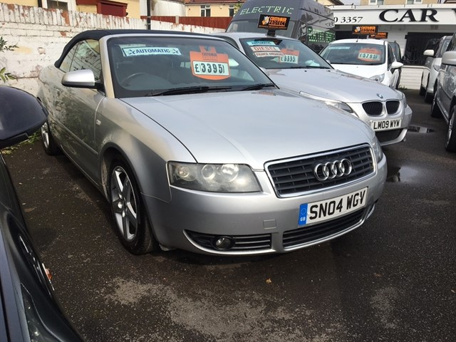 used Audi A4 Sport Cabriolet CVT 2dr in essex