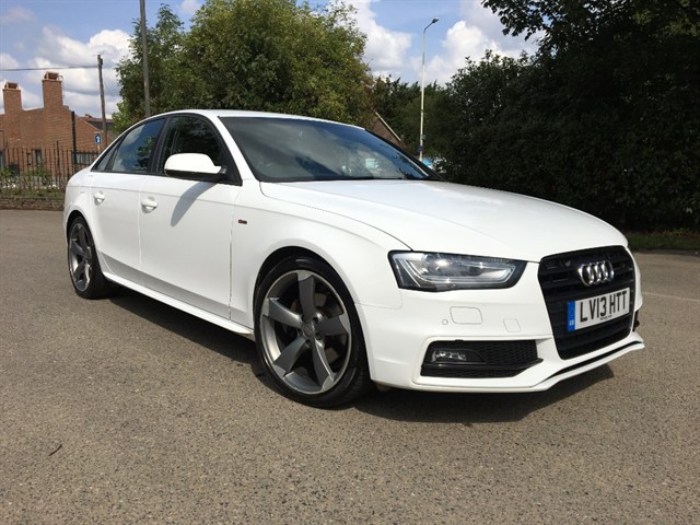 used Audi A4 TDI S LINE BLACK EDITION in essex