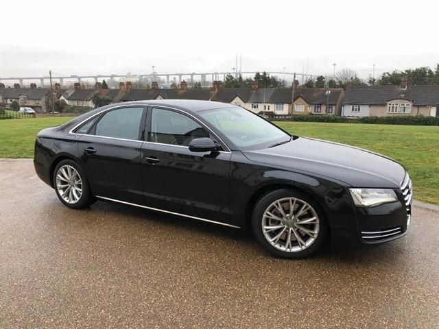 used Audi A8 TDI QUATTRO SE in essex