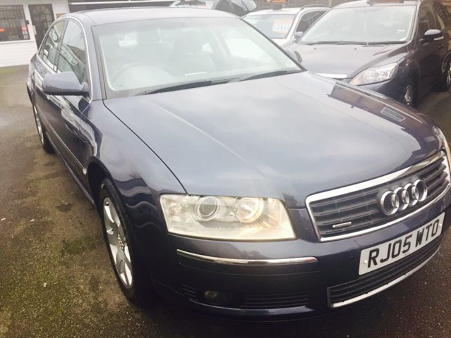 used Audi A8 TDI QUATTRO in essex