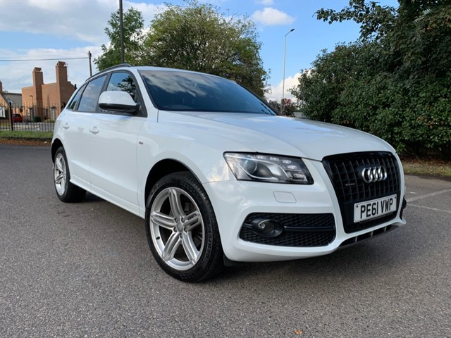 used Audi Q5 TDI QUATTRO S LINE SPECIAL EDITION in essex