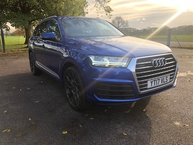 used Audi Q7 TDI QUATTRO S LINE in essex