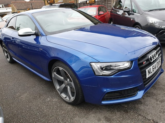 used Audi S5 TFSI QUATTRO S LINE BLACK EDITION in essex