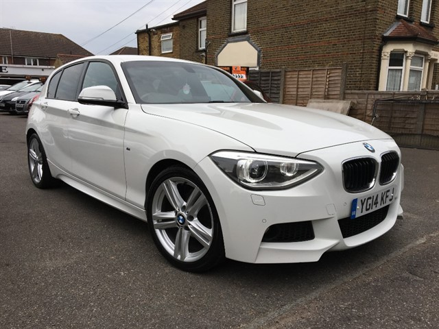 used BMW 116d M SPORT in essex