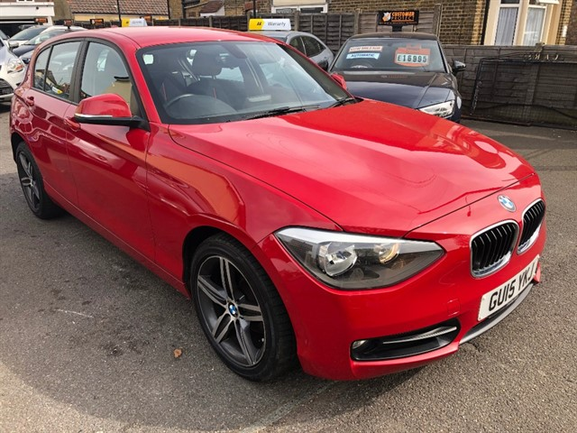used BMW 116d SPORT in essex