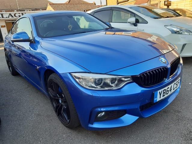 used BMW 435d XDRIVE M SPORT in essex