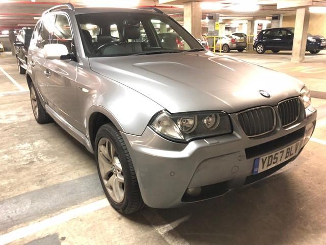 used BMW X3 D M SPORT in essex