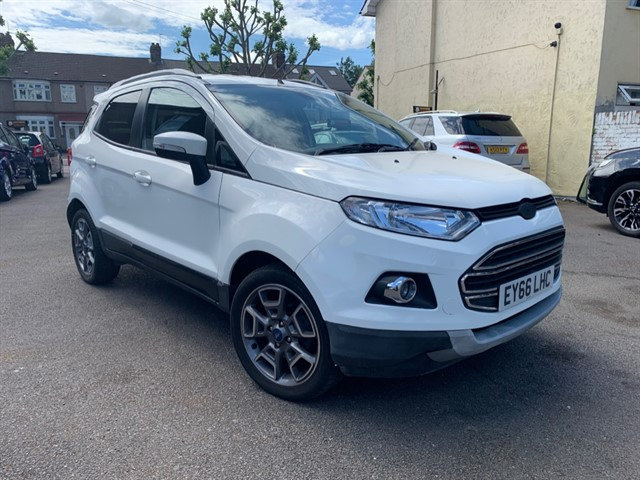 used Ford EcoSport TITANIUM TDCI in essex