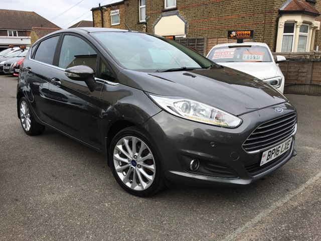 used Ford Fiesta TITANIUM X in essex