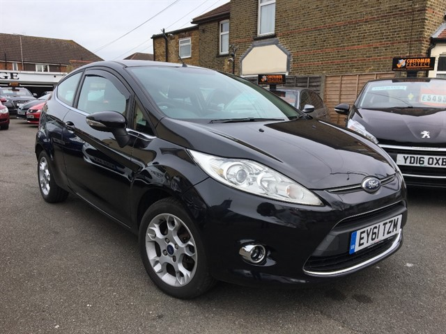 used Ford Fiesta ZETEC in essex