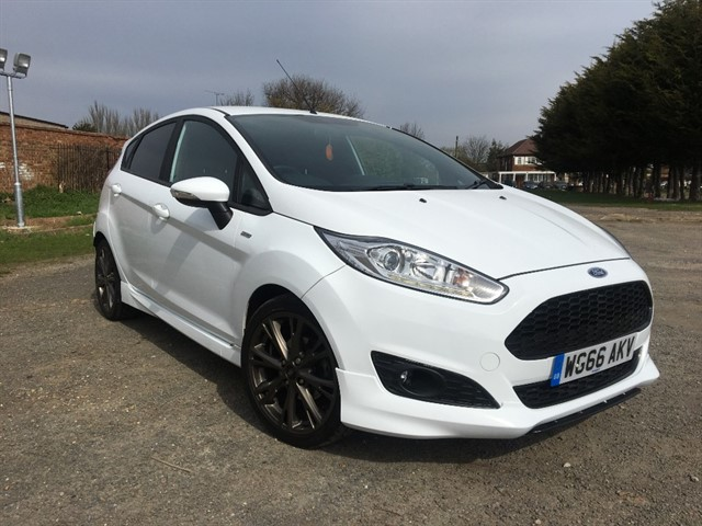 used Ford Fiesta ST-LINE in essex