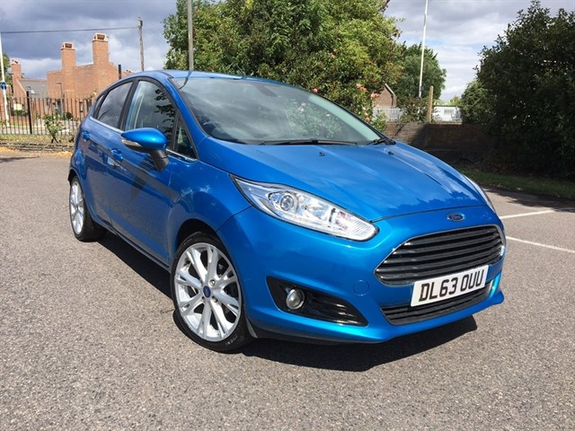 used Ford Fiesta TDCi Titanium X Hatchback 5dr Manual (95 g/km, 94 bhp) in essex