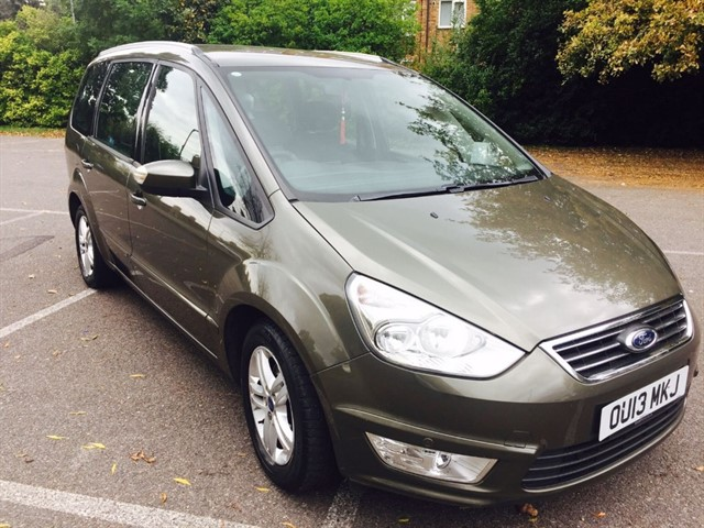 used Ford Galaxy ZETEC TDCI in essex