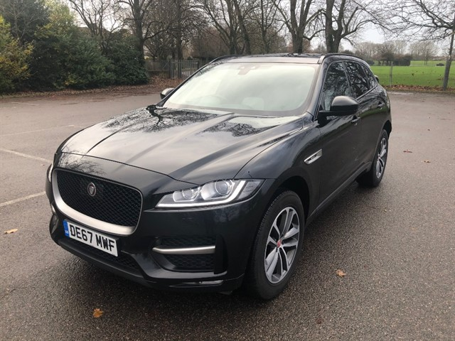 used Jaguar F-Pace R-SPORT in essex