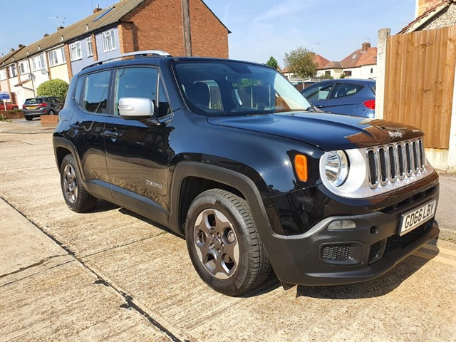 used Jeep Renegade M-JET SPORT in essex