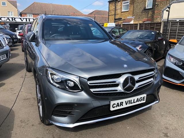 used Mercedes 250 GLC  D 4MATIC AMG LINE PREMIUM PLUS in essex