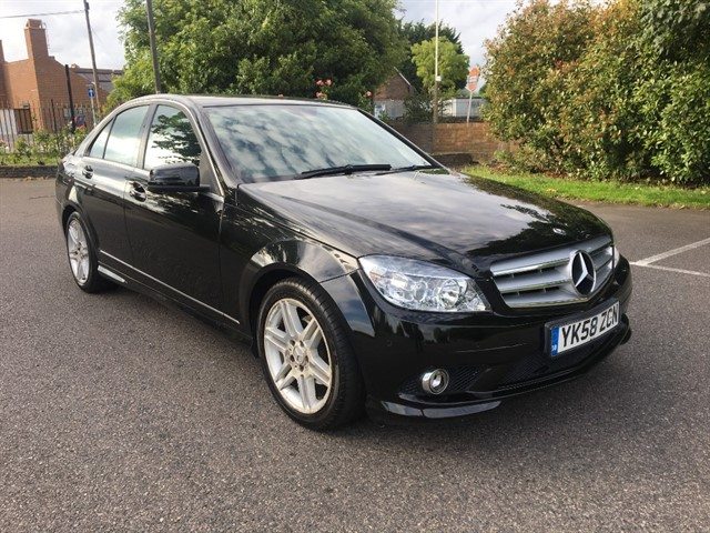 used Mercedes C220 C Class CDI Sport 4dr in essex