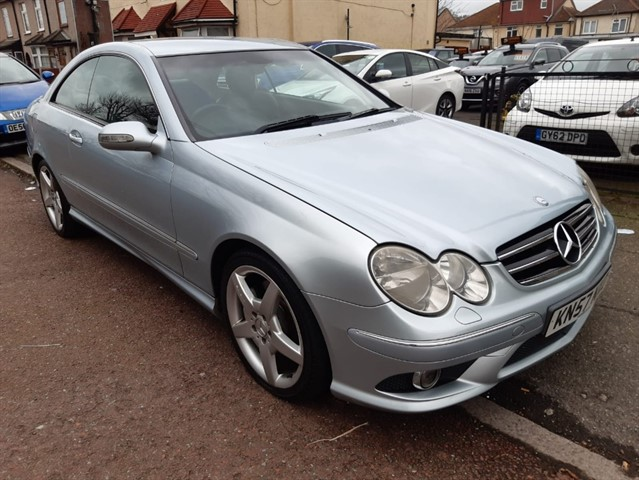 used Mercedes CLK220 CDI SPORT in essex