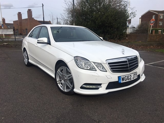 used Mercedes E350 E Class CDI BlueEFFICIENCY Sport 7G-Tronic Plus 4dr (start/stop) in essex