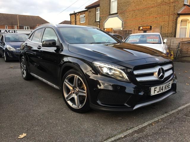 used Mercedes GLA220 CDI 4MATIC AMG LINE PREMIUM in essex