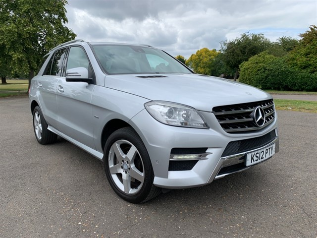 used Mercedes ML350 BLUETEC SPORT in essex