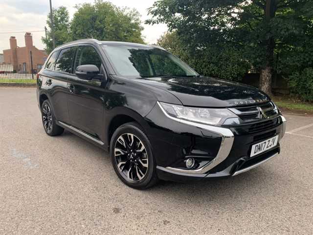 used Mitsubishi Outlander PHEV 4H in essex