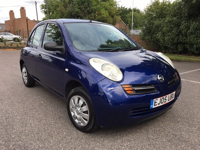 used Nissan Micra 1.2 16v S 5dr in essex
