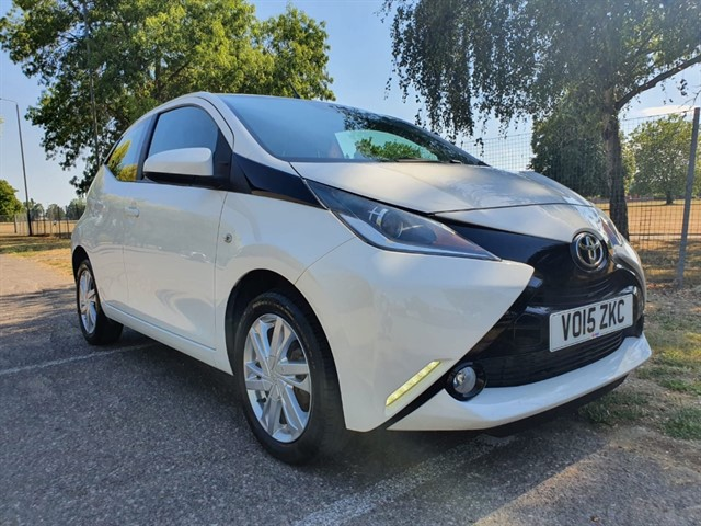 used Toyota Aygo VVT-I X-PRESSION in essex