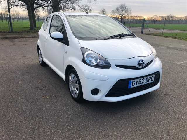 used Toyota Aygo VVT-I ICE in essex