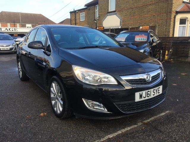 used Vauxhall Astra SE in essex