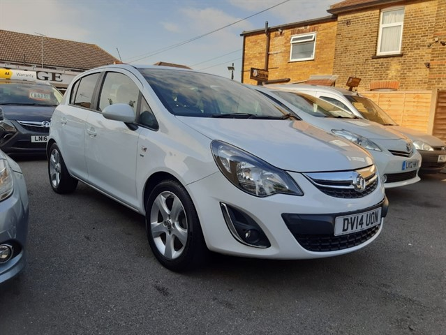 used Vauxhall Corsa SXI AC in essex