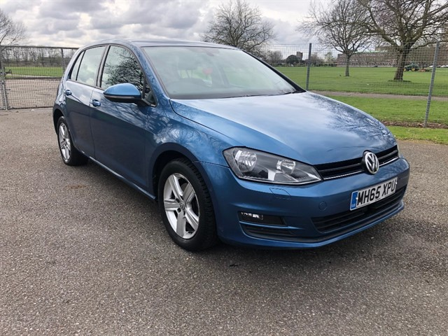 used VW Golf MATCH EDITION TSI DSG BMT in essex