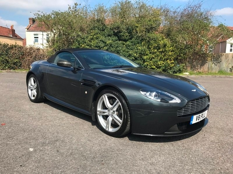 used Aston Martin Vantage V8 ROADSTER N400 in bristol