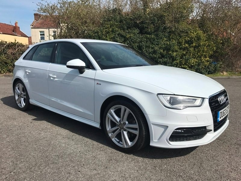 used Audi A3 TDI 184PS S line in bristol
