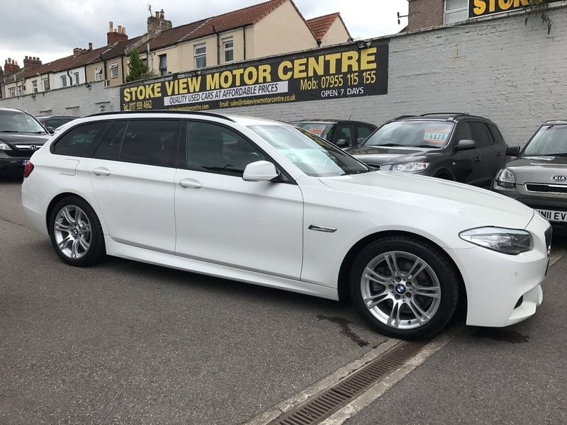 used BMW 520d 5 SERIES M SPORT TOURING in bristol