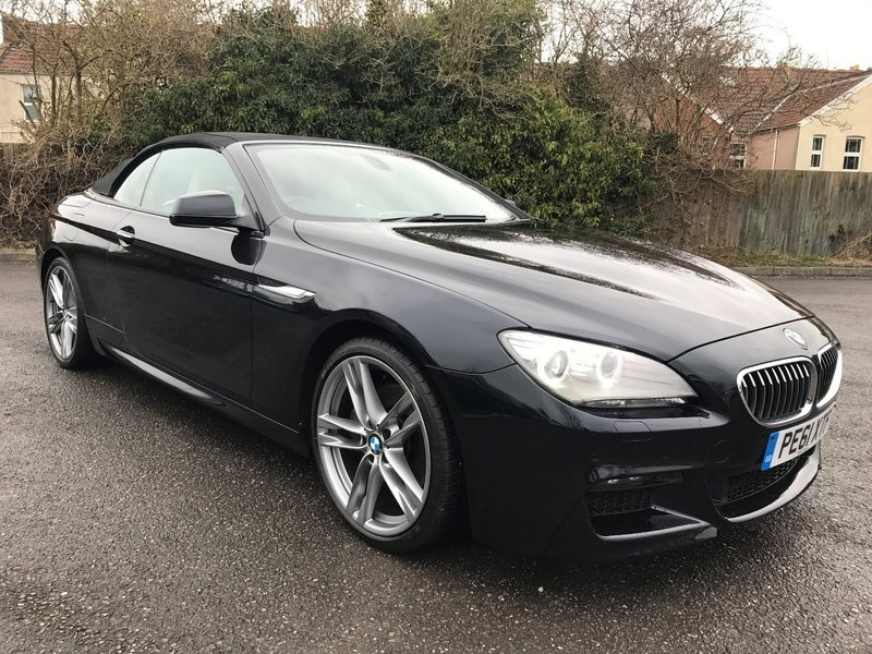 used BMW 640d 6 SERIES M Sport Convertible in bristol