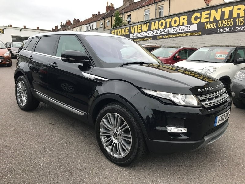 used Land Rover Range Rover Evoque SD4 4WD PRESTIGE 190HP in bristol