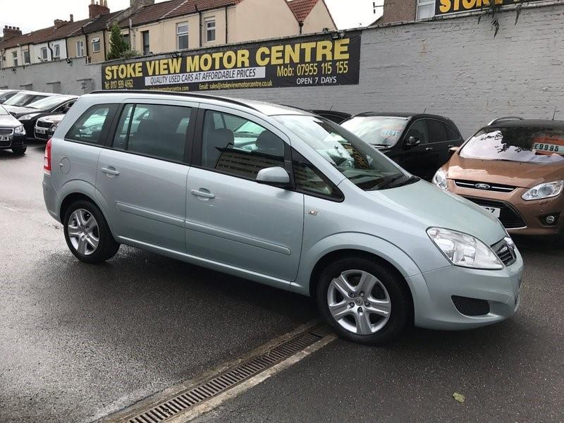used Vauxhall Zafira CDTI EXCLUSIV DPF 120PS in bristol